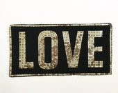 Sequin trim, Sequin Patch, Beaded Trim, Crafting Supply, Sewing Supply