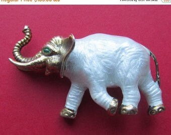 On Sale Antique Finn Jensen Norway Sterling And Enamel Elephant Brooch Pin Jewelry