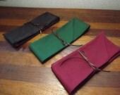 Reserved for Daniel G Three Mens Civil War Cotton Victorian Cravat Tie