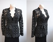 Crochet cardigan bolero sweater  made to order wedding bridal crochet handmade chic elegant spring summer beach
