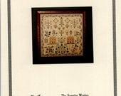 The Samplar Workes: The Grape Tree Sampler (OOP) - Cross Stitch Pattern