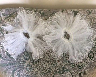 Wedding Veil Ruffle Attachment