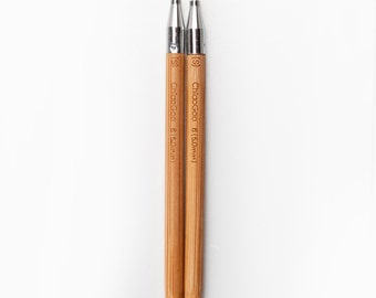 ChiaoGoo SPIN Bamboo Interchangeable Needle Tips 4 inch (10 cm)
