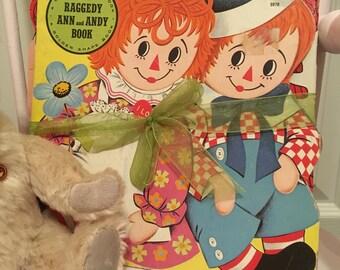 Vintage Raggedy Ann books