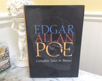 Book Safe Hidden Jewelry Box Gift Edgar Allan Poe