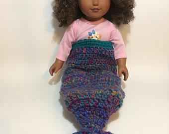 """Mermaid Tail, 18"""" doll"""
