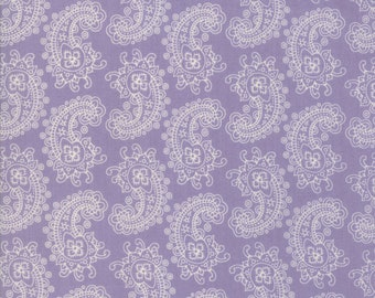 Spellbound Paisley in Lilac Haze,  Urban Chiks, 100% Cotton, Moda Fabrics, 31113 15