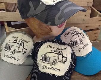 Hat Dirt Road Dreamer Truck Adjustable Cap