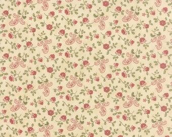 Country Orchard cream small print by Blackbird Designs for moda fabrics