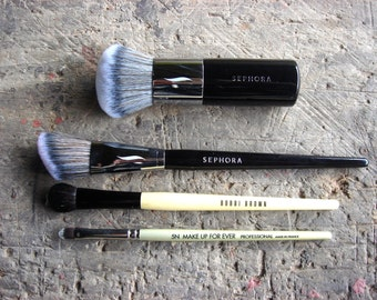 4 Pieces Set - Make-Up Professional Brushes
