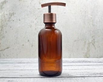Soap Dispenser   Bathroom Decor   Bathroom Soap Dispenser   Lotion Dispenser   Copper Kitchen Decor