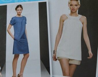 Project Runway Sewing Pattern 2922 Misses/Misses Petite Yoke Tunic or Dress Sz 12, 14, 16, 18, 20