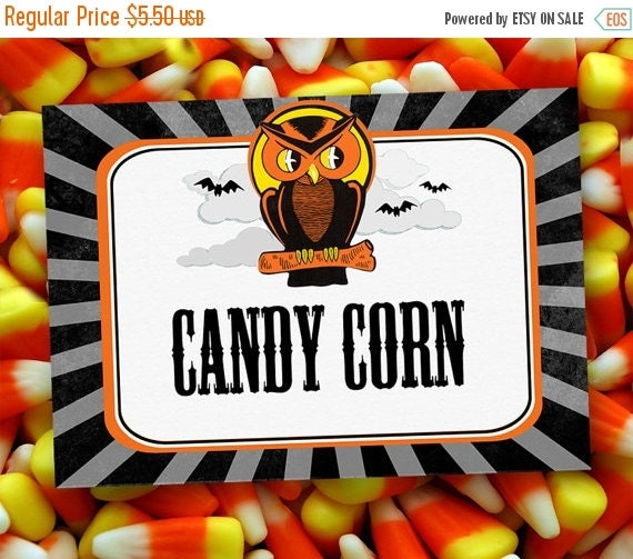 On Sale Halloween Have A Hoot Party Labels Instant