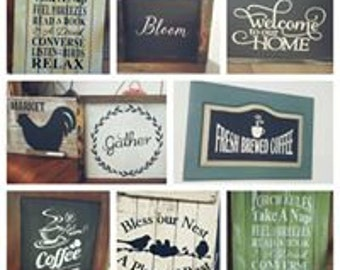 Farmhouse Signs Milk Paint 101 Workshop March 2017 at SimplyHomeSweetHome