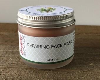 Repairing Clay Face Mask // Vegan Skincare // Mix at home // Anti-Aging // De-Stress