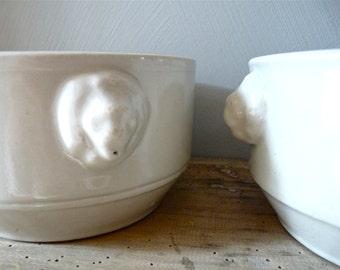Pork Butcher - French Terrine - Terrine - French Porcelain - French Pork Butcher - French Porcelain Terrine