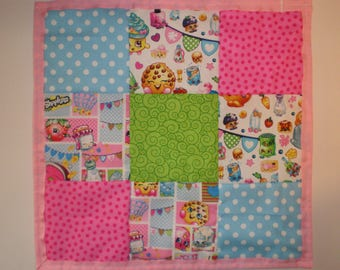 Doll Size Shopkins Playtime Quilt