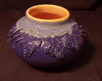 Slip Decorated Pine Cone Vase #2 PD (Irregular)
