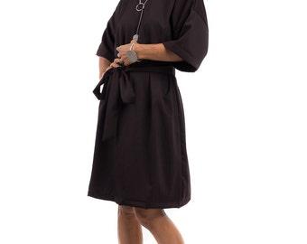 Short Dress, Brown dress,  Dark brown dress : Smart Chic Collection II