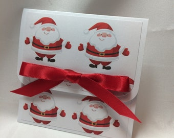 Santa Claus is Comin To Town Gift Card Holder