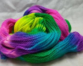 Sport weight Pacool alpaca wool 190 yds neon