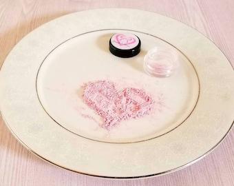 Light Pink Eyeshadow, pink makeup, bridal make up,wedding make up,  handmade make up, Light Rose eyeshadow