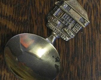 vintage brass tea caddy spoon the old curiosity shop