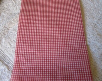 Red Gingham Print tissue paper