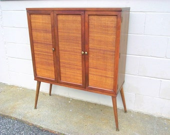4 Mid Century Modern Stacking Tables Taper Peg By