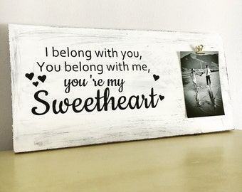 Wedding gift home decor wedding props and styling front entry way decor wedding sign song lyrics wooden sign wood sign living room decor