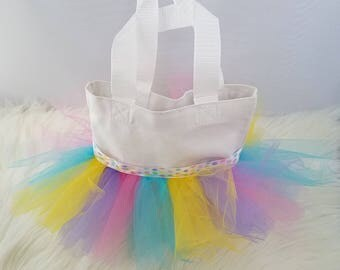 mini tutu tote bag