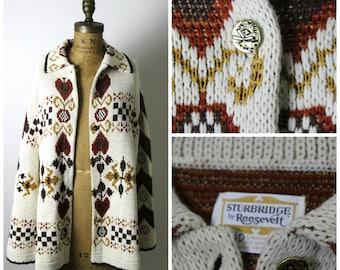 1970s Knit Cape