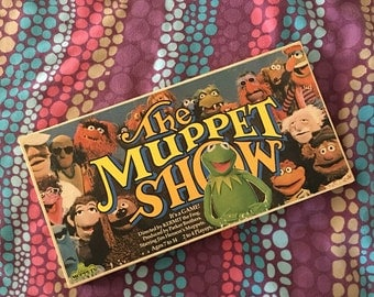 Vintage 1977 The Muppet Show Board Game Jim Henson Muppets