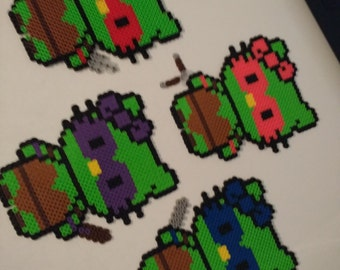 Hello Kitty Ninja Turtle Magnets