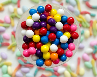 Gumballs - Stock image - Commercial Use - License - Digital Download - Candy Image