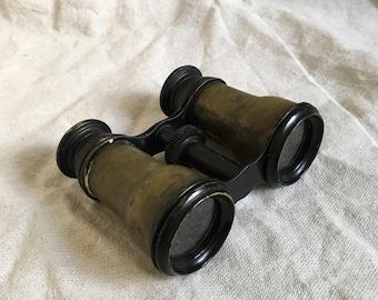 Charming Vintage Brass Binoculars