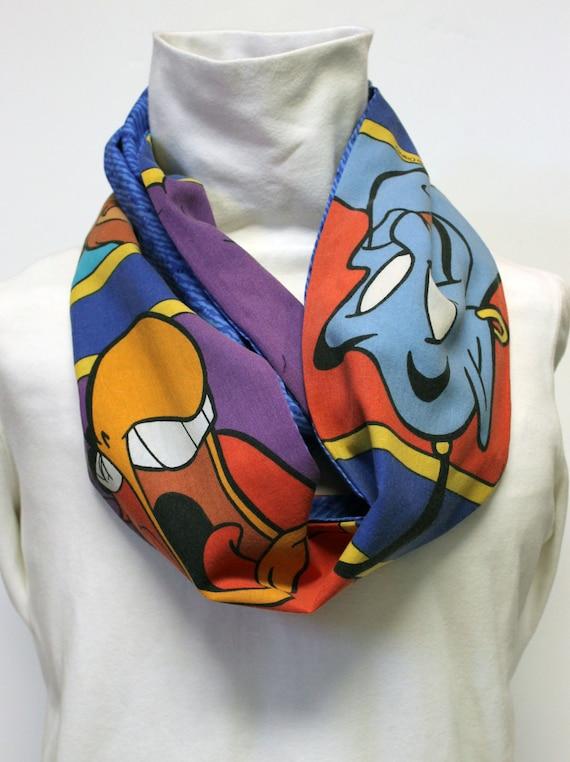 Disney Aladdin Women's Infinity Scarf with Pocket