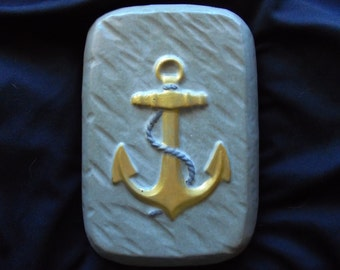 Anchor Stone Doorstop, Decor, FREE SHIPPING