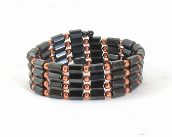 Men's Magnetite Copper Wrap Magnetite Jewelry  Brazilian Magnetite Magnetic Jewelry bracelet anklet choker necklace circulation headaches