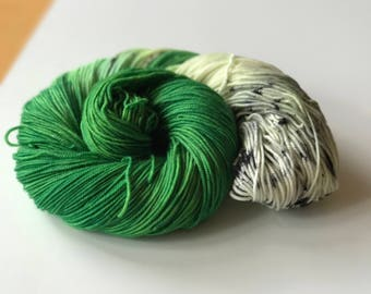 one of a special - Hand Dyed Yarn - Sporty Sock - 80/20 Superwash and Nylon - {one of a special}
