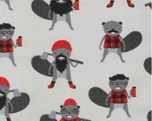 Iron Grey Burly Beaver FLANNEL From Robert Kaufman's Burly Beaver Collection by Andie Hanna