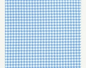 SHOP CLOSING SALE Fabric for quilt or craft Michael MIller Tiny Houndstooth in Boy Half yard