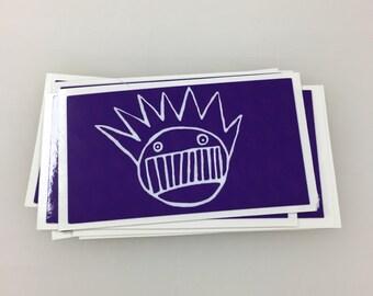 Purple Ween Sticker