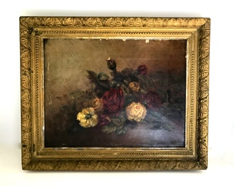 Antique painting - Still life
