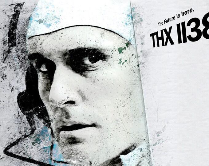 THX 1138 Poster George Lucas directs Robert Duvall Fan Art Poster, Poster or Framed Print