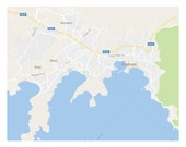 Custom Map of Bodrum for Stephanie
