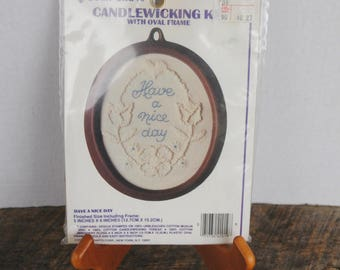 Have A Nice Day Candle Wicking Kit By Vogart Crafts