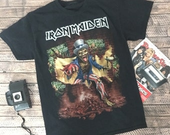 Iron maiden Book of souls shirt soft & thin Medium Iron maiden tshirt Iron maiden shirt band tee heavy metal shirt slayer 80s 90s band shirt