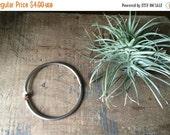 BLK FRDY SALE- 10% Off Vintage Jailer's Ring For Keys
