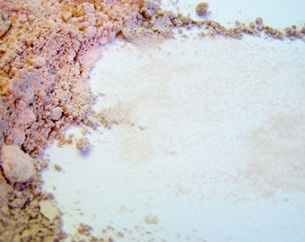Matte Mineral Foundation - Light Cool Beige 3  -  Vegan Friendly Mineral Makeup - Noncomedogenic